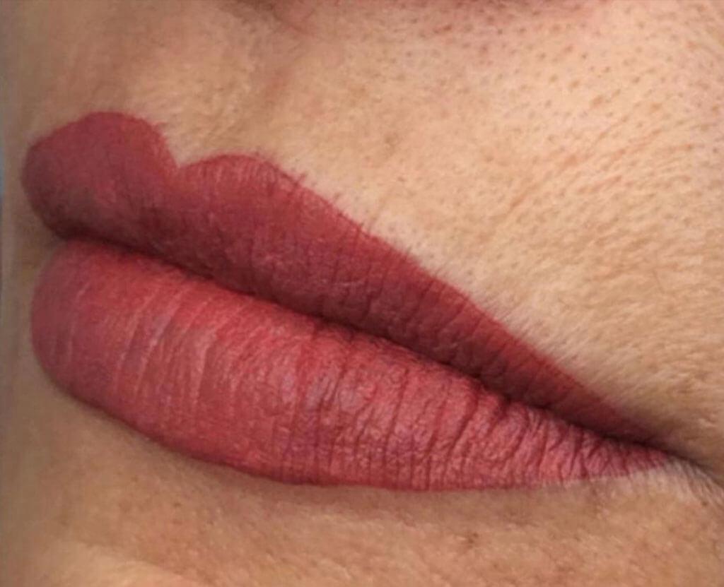 Wink dermopigmentação boca depois